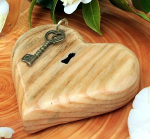 Key To My Heart Unique Gift In Oak The Magic Of Mushrooms